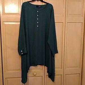 Green tunic  blouse
